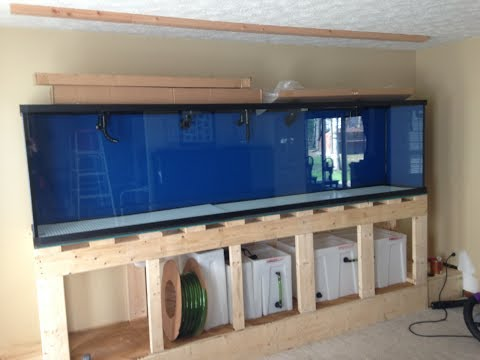 Bryan's 300 Gallon Custom Aquarium Project - Part I
