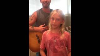 Dierks Bentley - Different for Girls ft. Elle King (Daddy daughter cover)