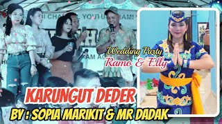 KARUNGUT DEDER By : SOPIA MARIKIT & Mr DADAK..Special pernikahan Ramo & Elly di Tewang Manyangen...