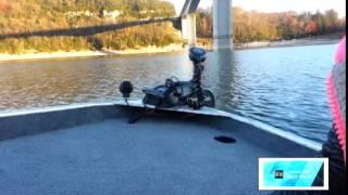 Présentation du Motorguide Xi 5 GPS sur le lac de Vouglans