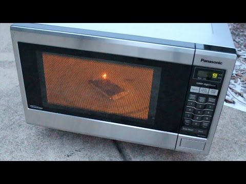 Iphone 6 Microwave Test In For 120 Seconds