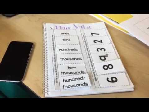 Math 4.NBT.1 Interactive Notebook