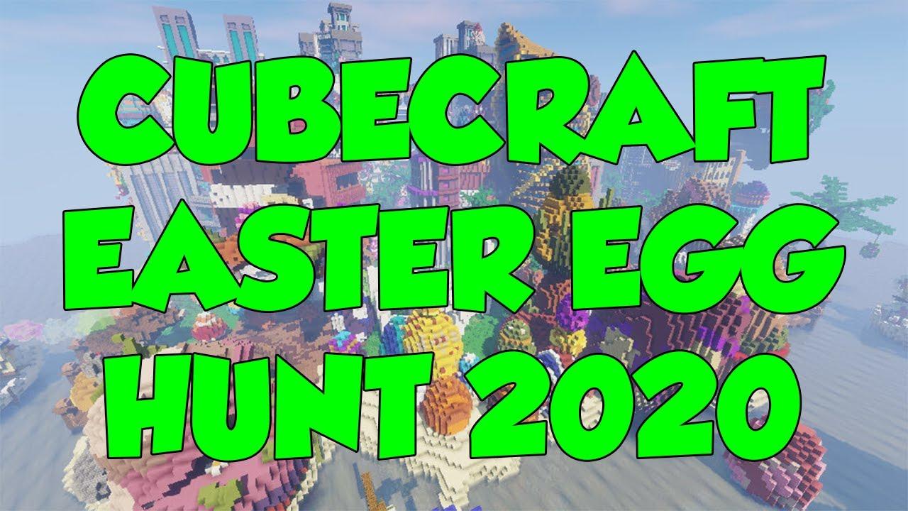 Cubecraft Halloween Hunt 2020 CubeCraft   EASTER EGG HUNT 2020 (ALL LOCATIONS)   YouTube