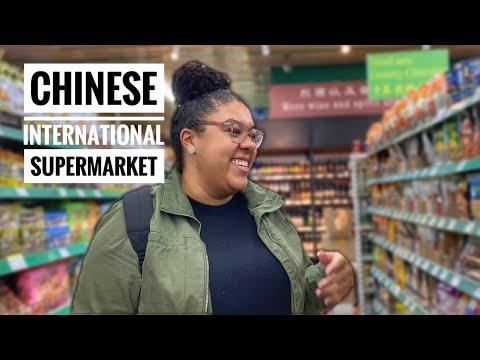 CHINESE INTERNATIONAL SUPERMARKET   BEIJING VLOG   Lauren's China Life