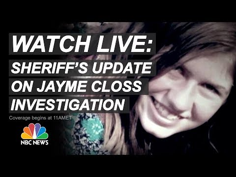 Watch Live: Officials Provide Updates After Missing Teen Jayme Closs Found Alive | NBC News