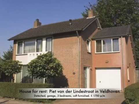 Detached house with garage for rent at the Piet van der Lindestraat in Veldhoven