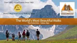 Most Beautiful Walks in the Dolomites (Italian Alps)