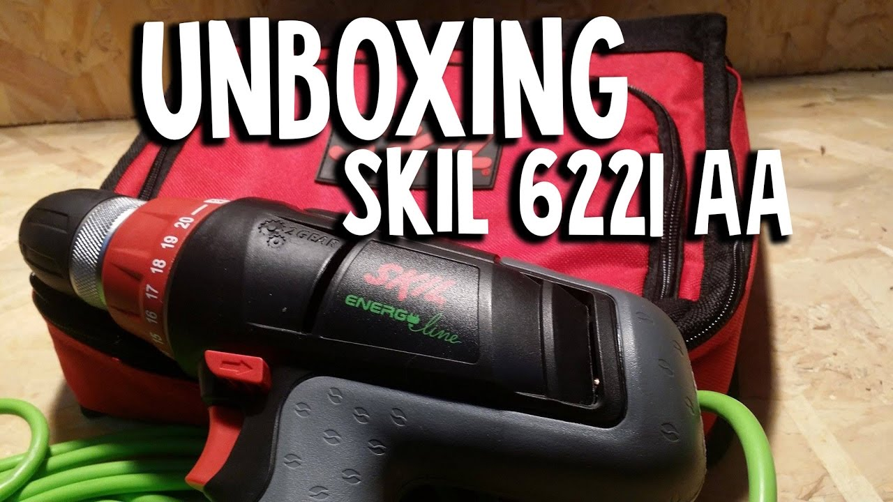 unboxing skil 6221 aa - youtube
