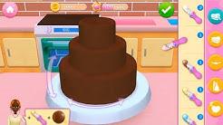 Kue Memasak Permainan Anak-Anak Dengan Kekaisaran Roti Saya - Memanggang, Menghiasi & Melayani Game