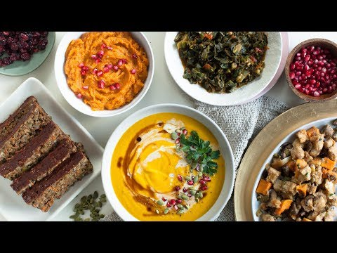 Amazing VEGAN THANKSGIVING Recipes | Easy Entrees & Sides