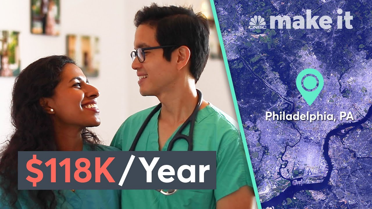 Living Together On $118K A Year In Philadelphia | Millennial Money