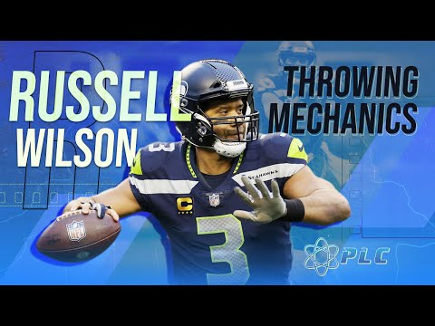 Russell Wilson's Very Unique Throwing Mechanics | Performance Lab of California