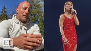 Dwayne Johnson, Celine Dion Mourn Their Parental Losses
