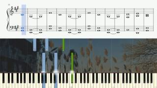 The Cinematic Orchestra - To Build A Home - Piano Tutorial + SHEETS