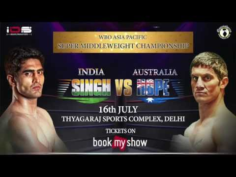 WBO Asia Pacific Super Middle Weight Championship | BookMyShow