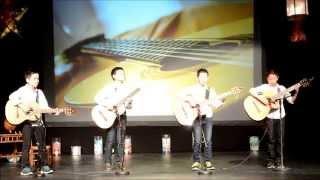 Văn nghệ mừng Tết Trung Thu 2015 Hòa tấu guitar (lời giới thiệu văn hoa)