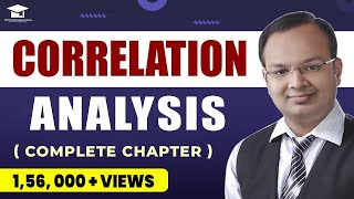Correlation Analysis Complete Chapter in Single Video   Correlation and Regression   Statistics