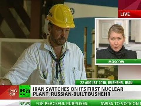 All Systems Go! Iran pushes 'on' switch for Bushehr nuclear plant