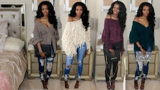 Winter Haul 2018 * Sweater Weather * Try On (Express, House of chic la, Ego Shoes, Fashion Nova)