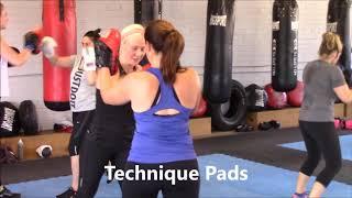 Womens boxing class