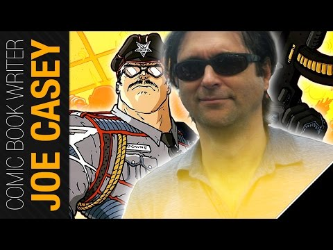 Joe Casey (Officer Downe) Exclusive Interview at London Comic Con 2016 * bad audio
