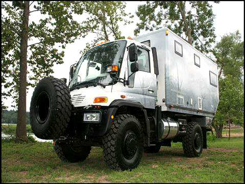 Custom-Built GXV Expedition Vehicles