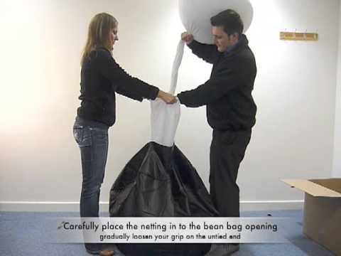 How To Fill A Bean Bag In Less Than 60 Seconds