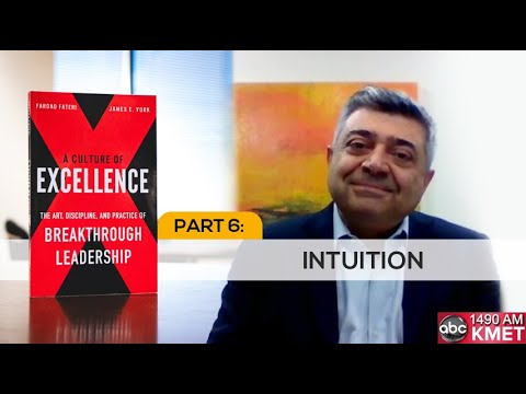 Interview with Dr. Fateri - Part 6: Intuition
