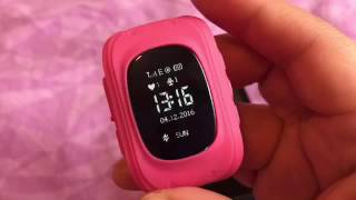 Tutorial Q50 Kids Smart Watch GPS Tracker EN ESPANOL