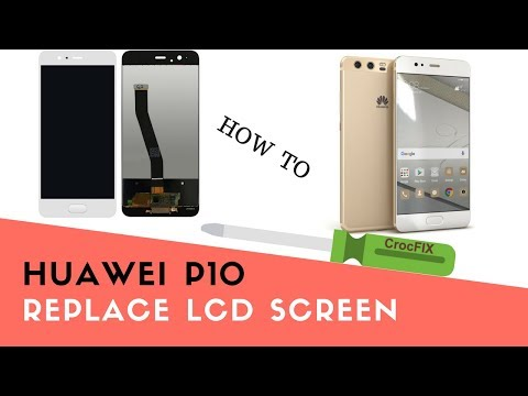 HUAWEI P10 Standard (not lite or plus) LCD REPAIR tutorial by CrocFIX