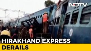 Hirakhand Express Accident: 27 Dead As Train Derail In Andhra Pradesh