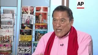 Wrestler, former NFL player, talks about trip to NKorea for pro wrestling event