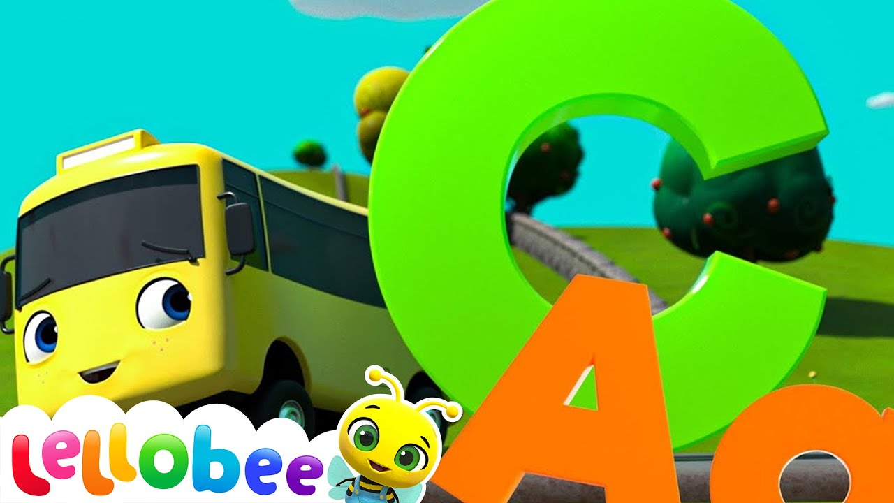 ABC Song For Kids - Buster The Bus | BRAND NEW | +More Nursery Rhymes & Kids Songs | Little Baby Bum