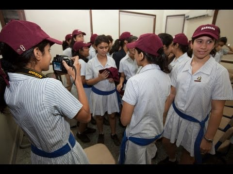 President Faust Visits the JB Petit High School for Girls, in Mumbai, India from YouTube · Duration:  1 minutes 49 seconds