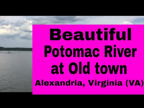 Travel video |Old Town |Alexandria |Virginia |Water Front Park | Potomac River