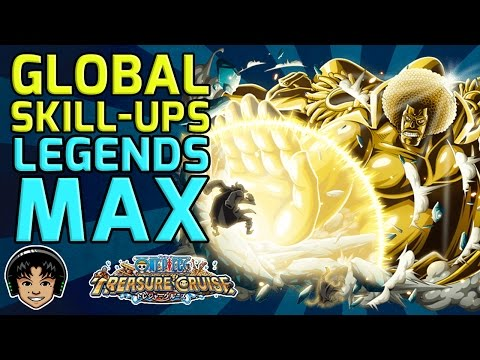 Double Skill-Ups - Getting Legends MAX! [One Piece Treasure Cruise]