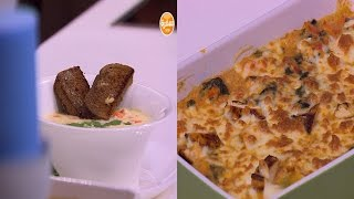 لازانيا بالدجاج والكريمة - شوربة دجاج كريمية  | عمايل إيديا حلقة كاملة
