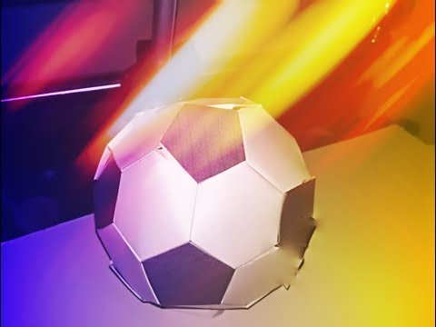 Make paper football || How to make paper soccer ball