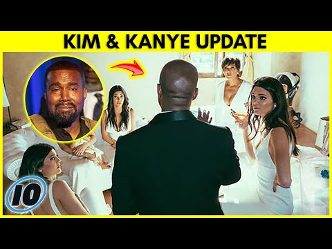 Kim Kardashian Filed For Divorce From Kanye West - UPDATE