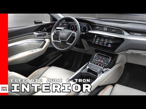 Electric Audi e-tron Quattro SUV Interior