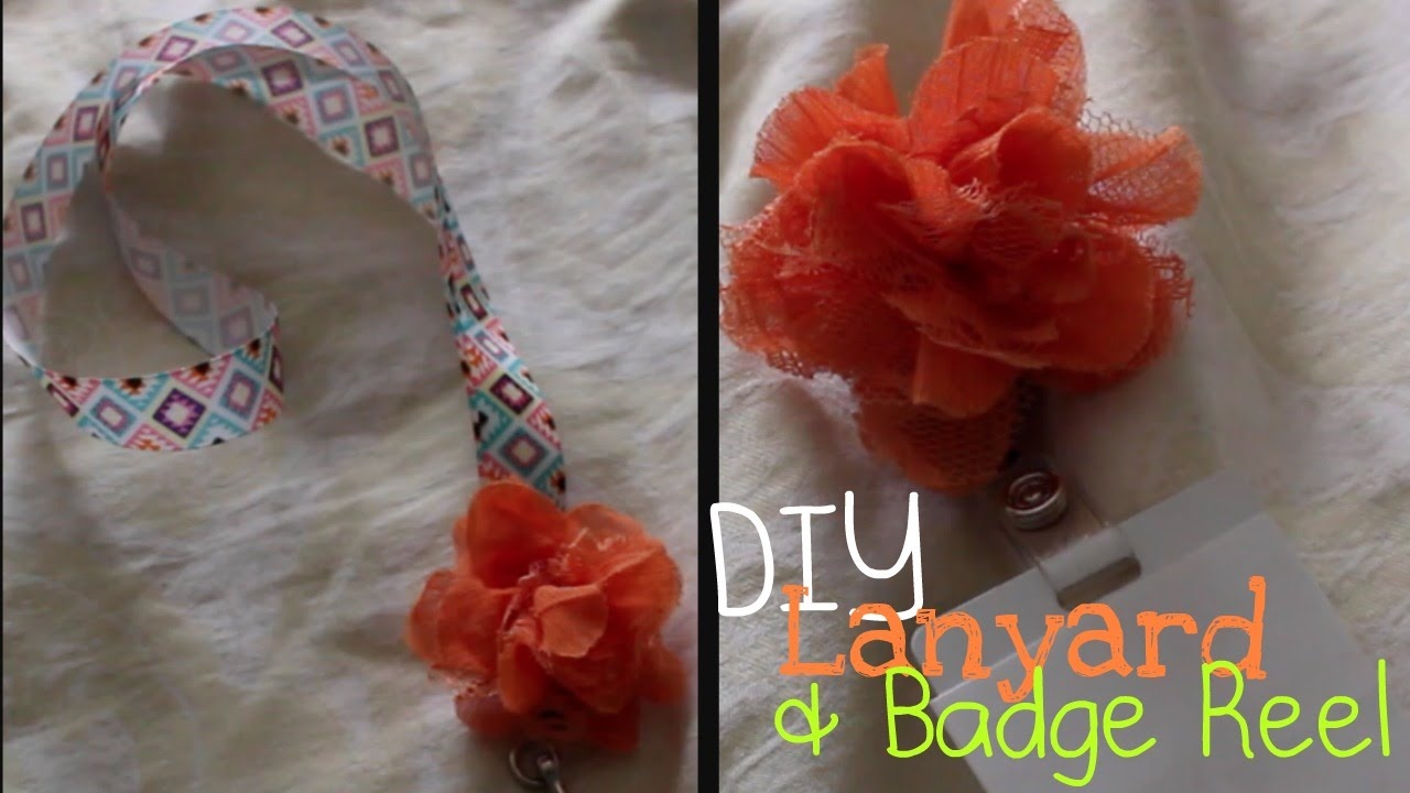 Diy aztec lanyard badge reel youtube diy aztec lanyard badge reel solutioingenieria Gallery
