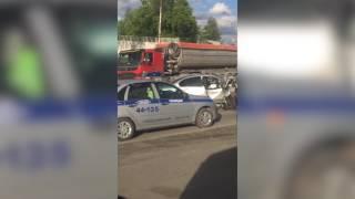Авария у хлебозавода в Первоуральске