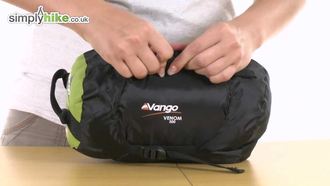 4e9af257693 Vango Venom 300 Sleeping Bag - www.simplyhike.co.uk - YouTube