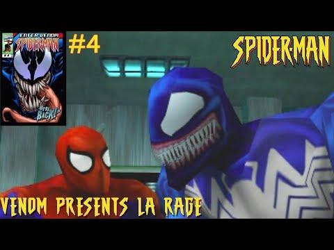 Venom presents : LA RAGE - Spiderman Playstation 4