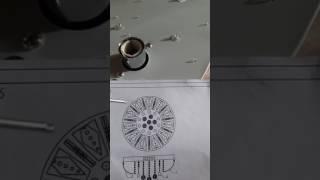 Как собрать люстру - тортик со светодиодами.How to assemble a chandelier - a cake with LEDs.