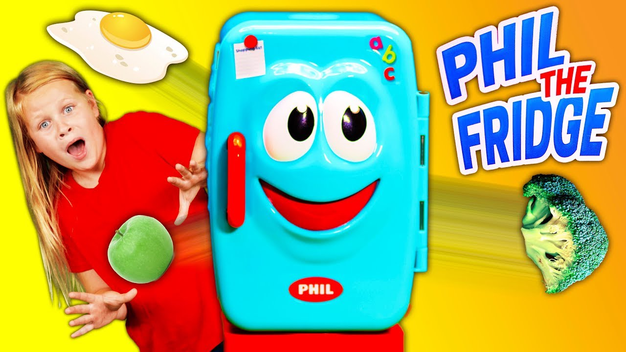 Download Phil the Fridge Game with the Assistant Playing with PJ Masks and Vampirina