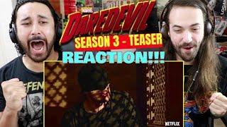 Marvel's DAREDEVIL: SEASON 3 | Teaser: Confessional TRAILER REACTION!!!
