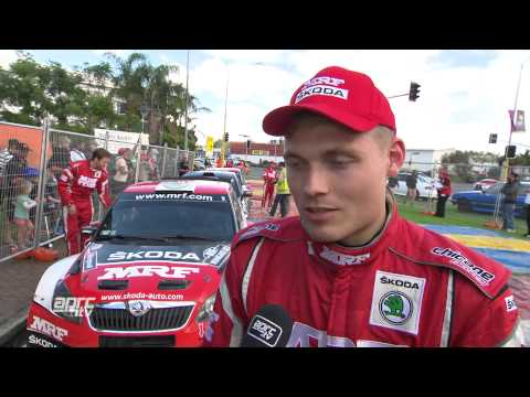 APRC 2015 Rally of Whangarei - Pontus Tidemand Interview