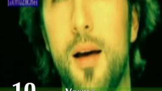 Tarkan top 10 - Slow Sarkilar (Songs)