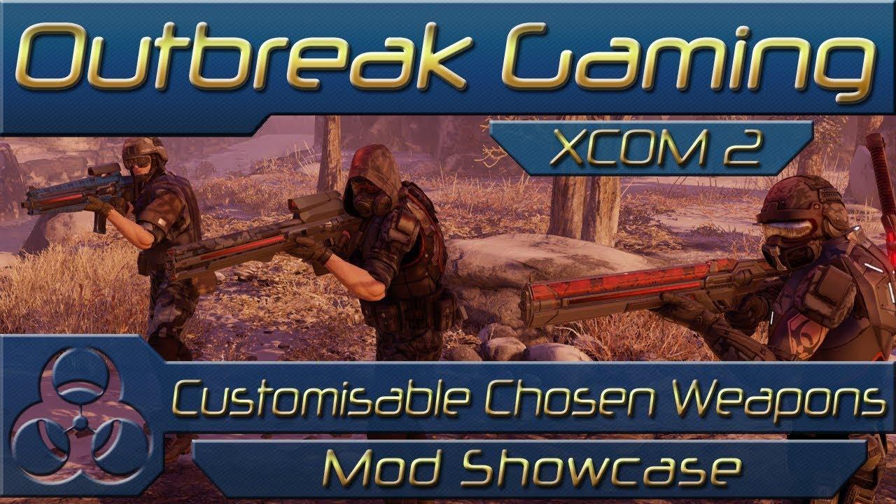 Xcom 2 Customisable Chosen Weapons Advent Armoury Wotc Mod